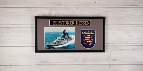 Zerstörer Hessen - D184 - 15x30cm