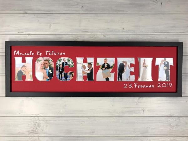 HOCHZEITSBILD, 20x70cm
