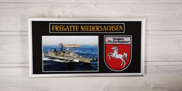 Fregatte Niedersachsen - F208 - 15x30cm