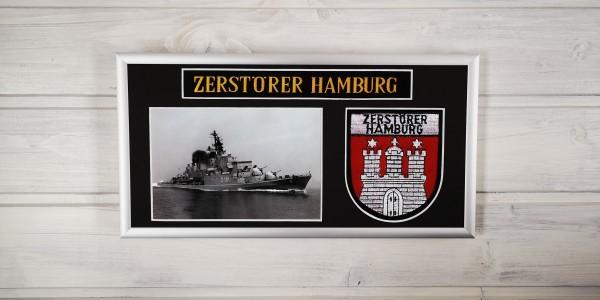 Zerstörer HAMBURG - D181 - 15x30cm