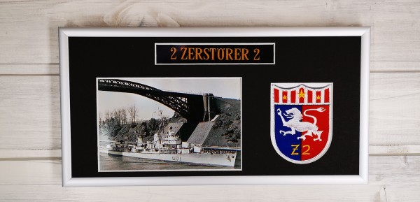 Zerstörer 2 - D171 - 15x30cm