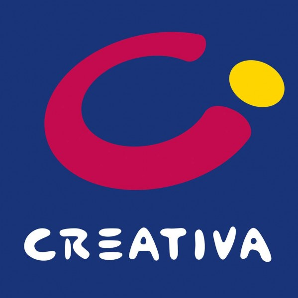 CREATIVA_Logo_blauer_Background