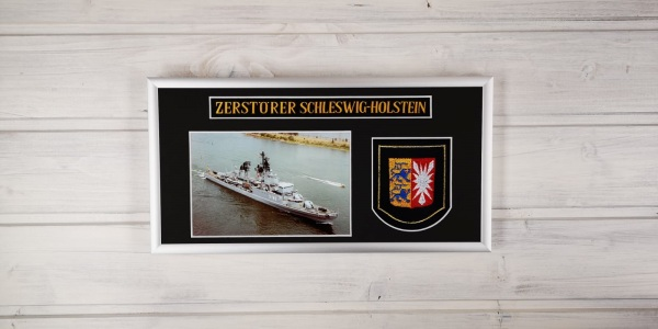Zerstörer Schleswig Holstein - D182 - 15x30cm