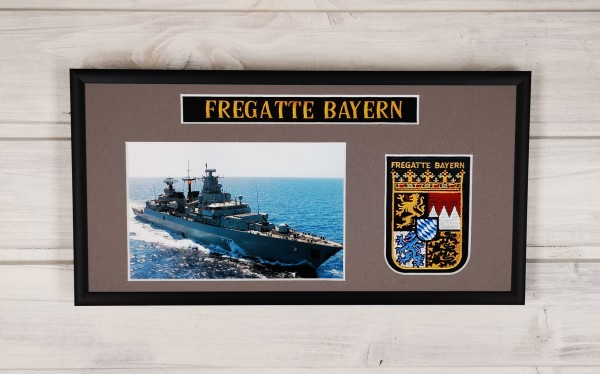 Fregatte Bayern - F217 - 15x30cm