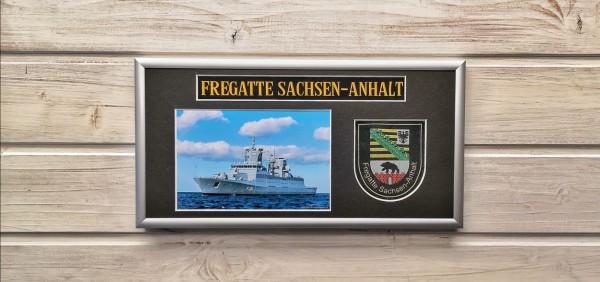 Fregatte Sachsen-Anhalt - F224 - 15x30cm