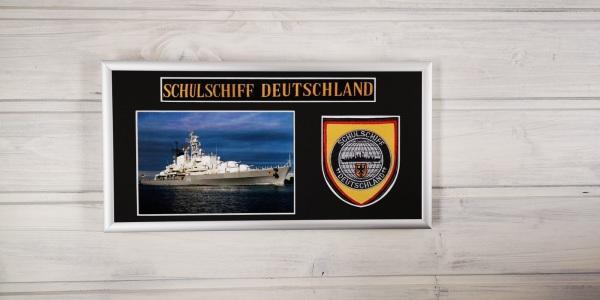 Schulschiff Deutschland - A59 - 15x30cm
