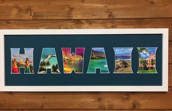 HAWAII, 20x60cm