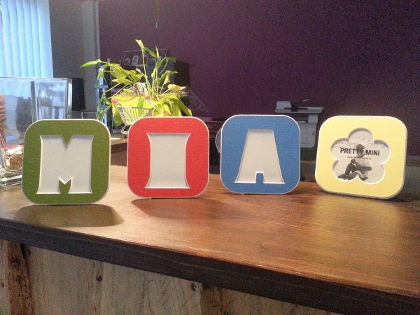 Pretty Mini Letters ; BUCHSTABEN