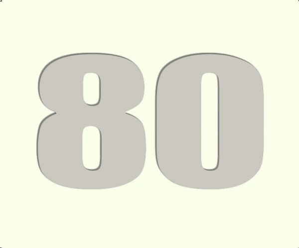 80 Passepartout 50x60cm ohne Bilderrahmen