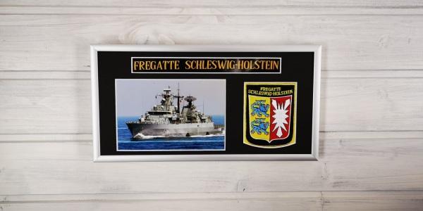 Fregatte Schleswig Holstein - F216 - 15x30cm