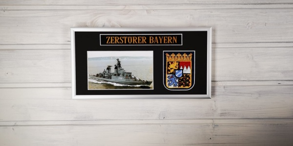 Zerstörer Bayern - D183 - 15x30cm