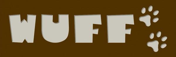 WUFF Passepartout 20x60cm mit Bilderrahmen