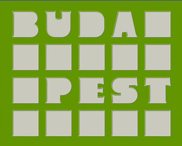 Collage BUDAPEST, 40x50cm inkl. Bilderrahmen