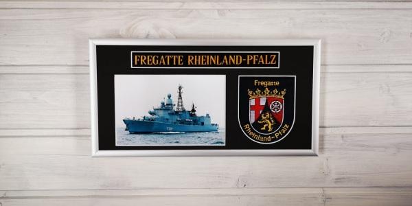 Fregatte Rheinland Pfalz - F209 - 15x30cm